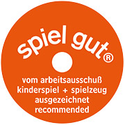 Received Spiel Gut Award; for more information, visit spielgut.org